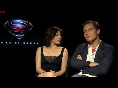 zod groundhog day michael shannon and antje traue of steel