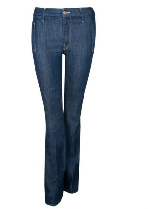 Denim And A Dress Tried And Tested For Winter And by Tried Tested The Drama High Waist Flare By