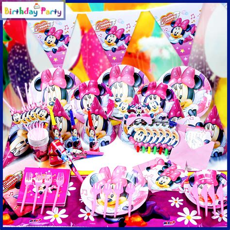 cartoon themes party 2015 hot sale minnie mouse party decorations cartoon