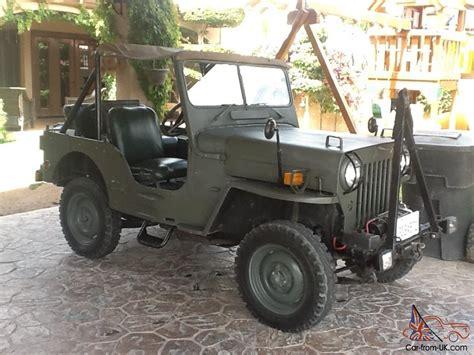 mitsubishi j54 1954 jeep mitsubishi j54