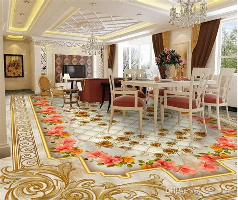 Floor Plan Online Free 3d floor wallpaper luxury golden rose marble soft bag