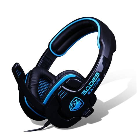 Headphone Pc Gaming sades sa708 headphones gaming headset with microphone for computer gaming headphone jpg