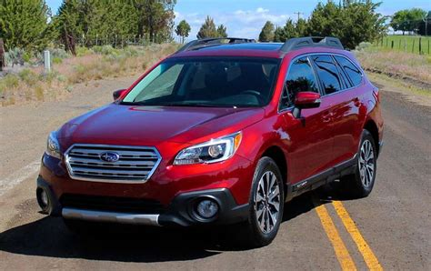 subaru outback 2018 red 2018 subaru outback specs price and release date