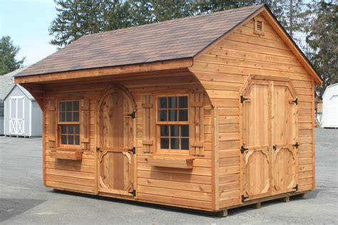 Shed Homes Plans Cedar Shed Plans Cross Plan
