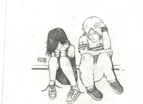 imagenes de amor triste para colorear emos dibujos de amor para descargar en tu celular