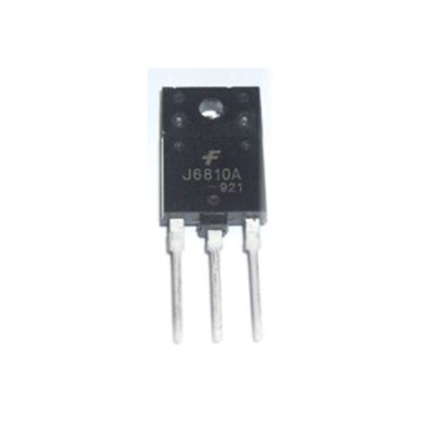 transistor j6810a datasheet transistor j6810a 28 images mpsa42 ช ล คอนทรานซ สเตอร npn 300v 500ma j6810a transistor hor