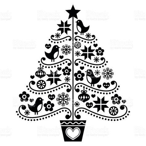 weihnachtsbaum clipart schwarz wei 223 1 clipart station