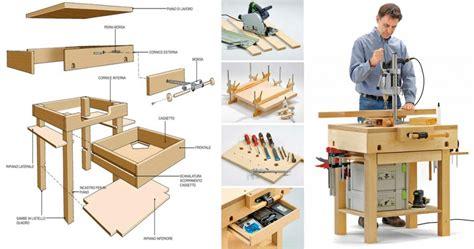tavolo da lavoro fai da te come si costruisce un tavolo da lavoro in legno 12