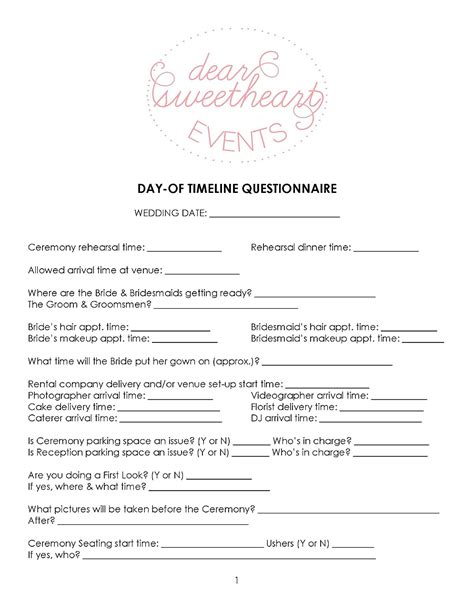 Wedding Planner Questionnaire by Wedding Makeup Questionnaire Makeup Vidalondon