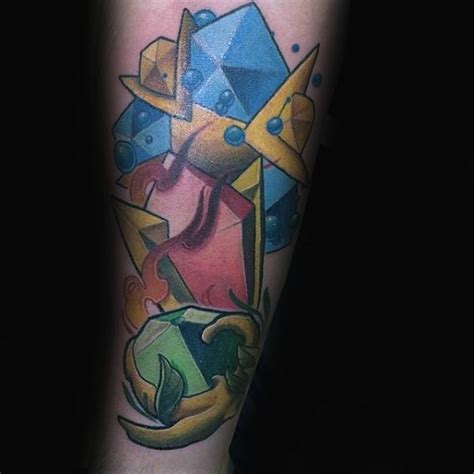 from pixilated panache to three dimensional brio the zelda canon is 90 zelda tattoos for men cool gamer ink design ideas