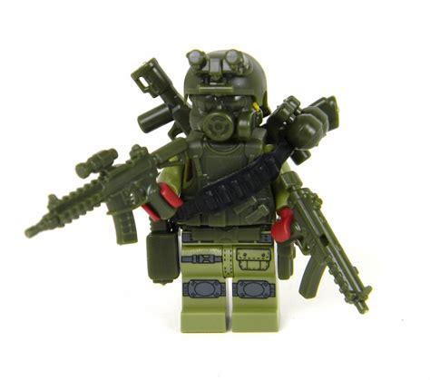 Mainan Bricks Army Ww Ii Set By Doll green commando army soldier minifigure sku27 made with real lego 174 minfigure ebay