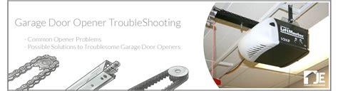 Garage Door Opener Troubleshooting Je Garage Doors Troubleshooting Garage Door Problems