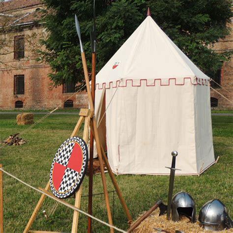 tende medievali tenda a padiglione medievale