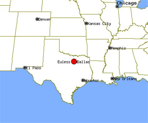 euless texas map euless profile euless tx population crime map