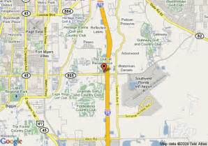 map fort myers florida area map of la quinta inn suites fort myers airport fort myers