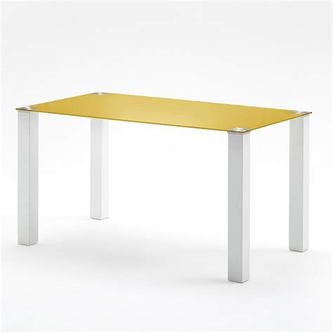 large modern dining table rectangular in petrol glass