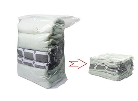 comforter vacuum storage bags enormous space saver cube vacuum storage bags three pack