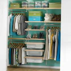 Shop Closet Organizers Birch White Elfa D 233 Cor Chic Reach In Closet
