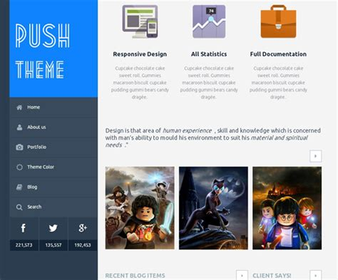theme wordpress xone wp theme of the day 11 push multipurpose wordpress