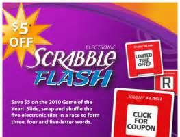 scrabble coupons 5 hasbro scrabble simon or yatzee flash printable