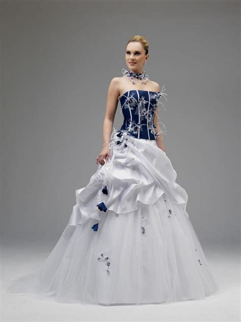 white and blue wedding dresses white and royal blue wedding dress naf dresses