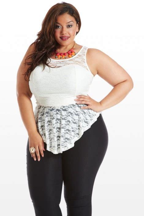 Bigsize Plussize Blouse plus size falls lace peplum top fashion to figure