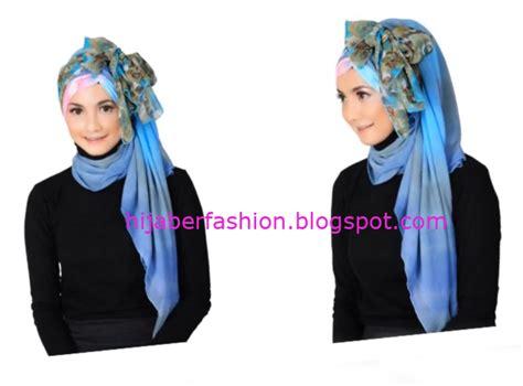 tutorial jilbab pesta kombinasi cara memakai jilbab kombinasi modern tutorial hijab