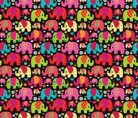 colorful elephant wallpaper colorful indian elephant parade littlesmilemakers