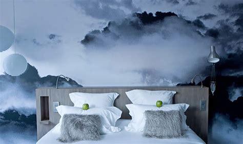 cloud bedroom wallpaper фотообои 3d для стен каталог фото на примере интерьеров