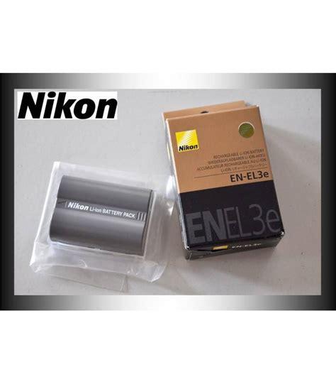 Nikon Battery En El3e nikon bateria original en el3e