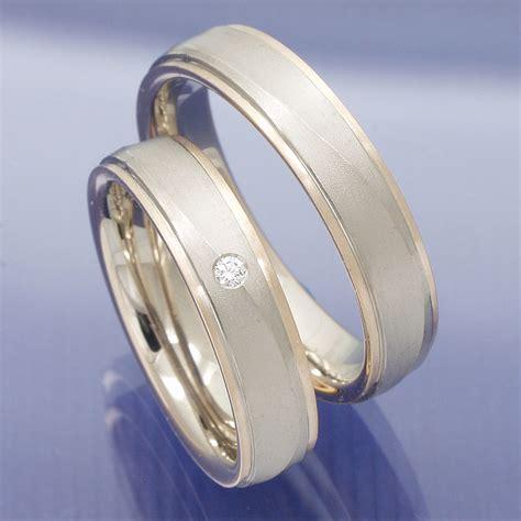 Moderne Eheringe Wei Gold by Eheringe Shop Trauringe Partnerringe Aus 585 Rot Und