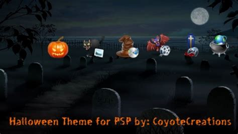 themes psp 2015 halloween psp theme by coyotecreations on deviantart