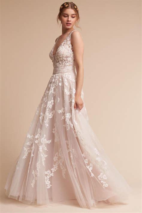 blush colored wedding dresses blush wedding dress styles we southern living