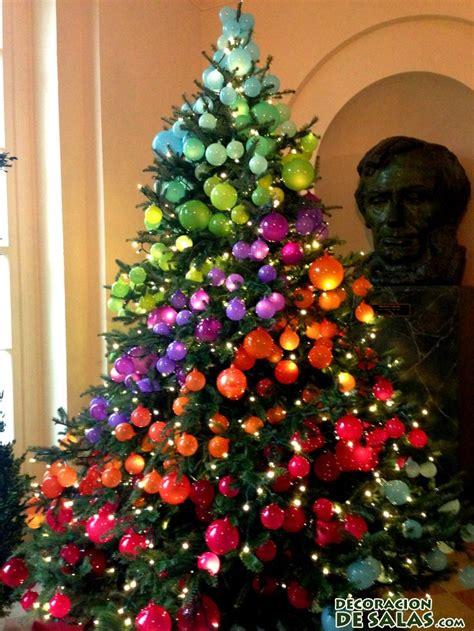 arbol d enavidad con colores naranjas 193 rboles de navidad muy originales