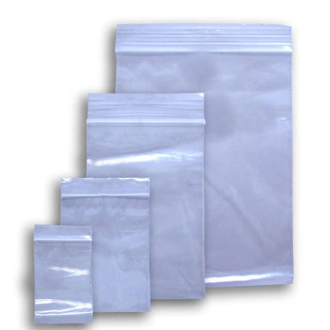 crown company poly bags zip lock