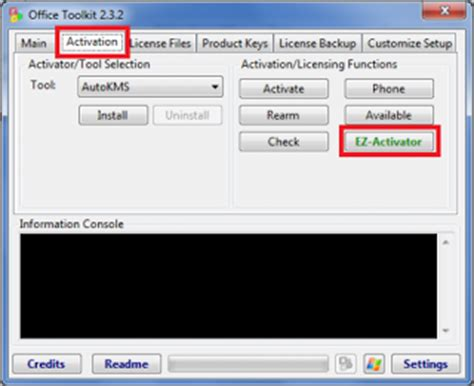 Office Activator by Office 2010 Toolkit And Ez