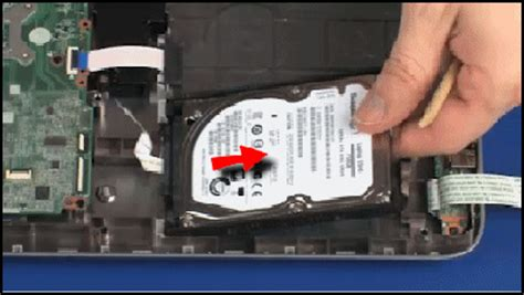 removing and replacing the hard drive for hp envy 15 k000