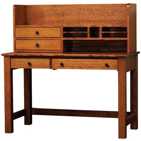 Rivertowne 48 Quot Amish Desk With 1 Drawer Hutch Option 48 Desk With Hutch