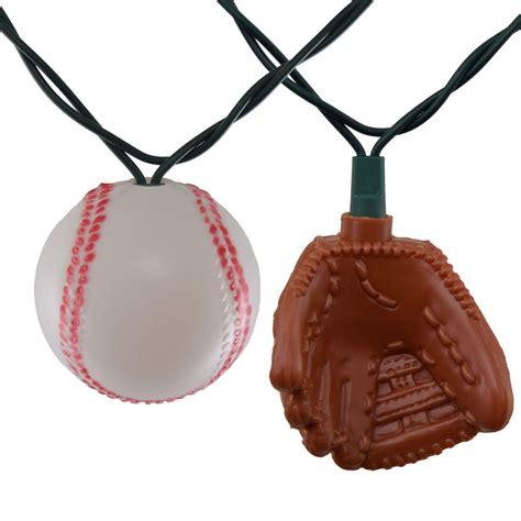 Baseball String - baseball and glove string lights
