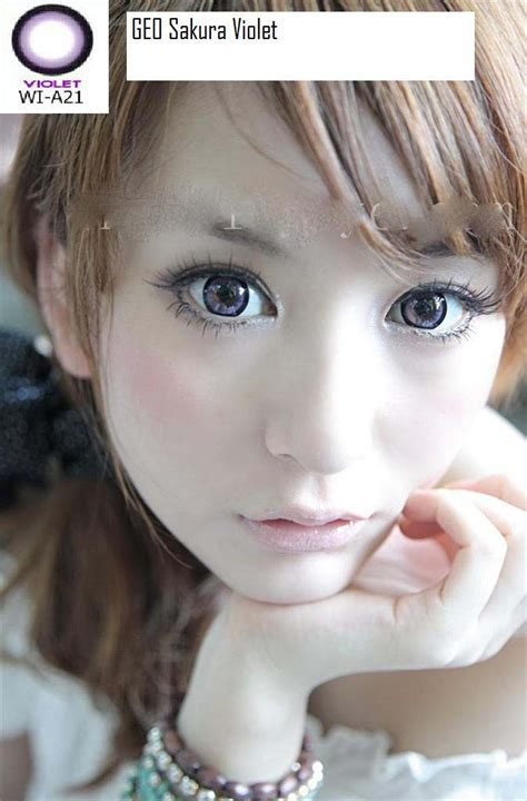 And Anime Softlens Twilight Violet Diameter 15mm jual softlens geo 15mm free ongkir softlensmurahku