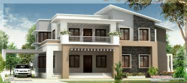 2 floor houses modern mix floor home design indian house plans