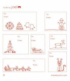 Made by joel holiday gift tags printable red2