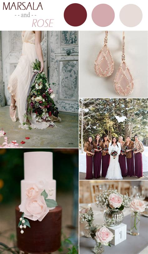 10 winter wedding color ideas and wedding invitations