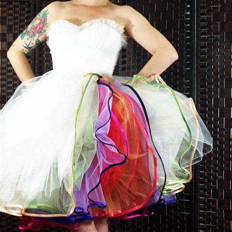 diy rock and roll layers diy tutorial multi layered tulle petticoat make your own