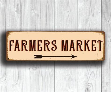 home decor company picks dallas farmers market for farmers market sign classic metal signs