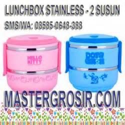 List Rantang Termos Stainless Susun 3 Shunfa Lunch Box Food lunch box tempat makan rantang master grosir