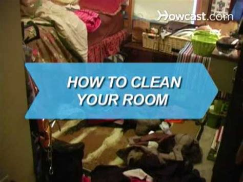 how to clean in how to clean your room