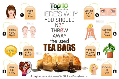 how to use tea bags here s why you should not throw away used tea bags top
