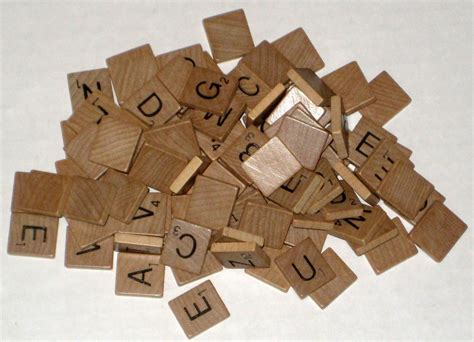hasbro scrabble replacement tiles sold 95 wood scrabble replacement tiles wooden