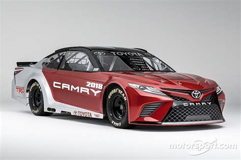 Toyota In Nascar Toyota Unveils All New Look For Nascar Camry